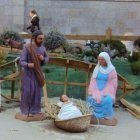 The creche of the giant Nativitys scene, Barcelona