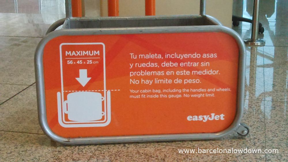 Hand Luggage Dimensions Easyjet