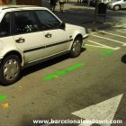 Green Parking Zone Barcelona
