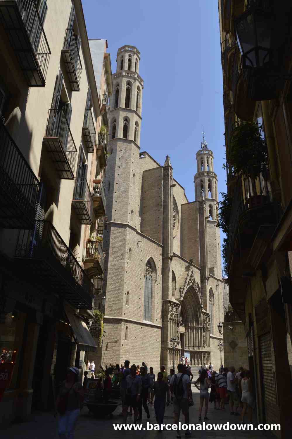 Santa Maria Del Mar Barcelona S Cathedral Of The Sea
