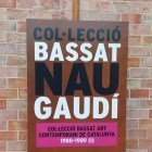 The sign in front of the Mataró Workers Cooperative which was the fisrt building designed by Antoni Gaudi