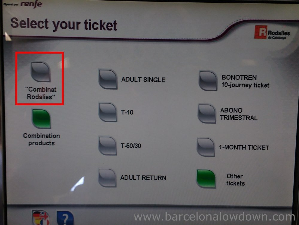 How to claim your free train ticket - step 2
