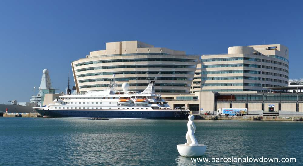 From The Cruise Ship Terminals To Barcelona City Centre