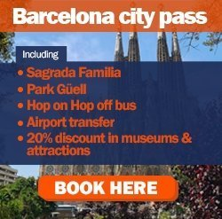 Barcelona city pass ad
