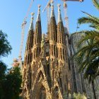 The Sagrada Familia Basilica Barcelona
